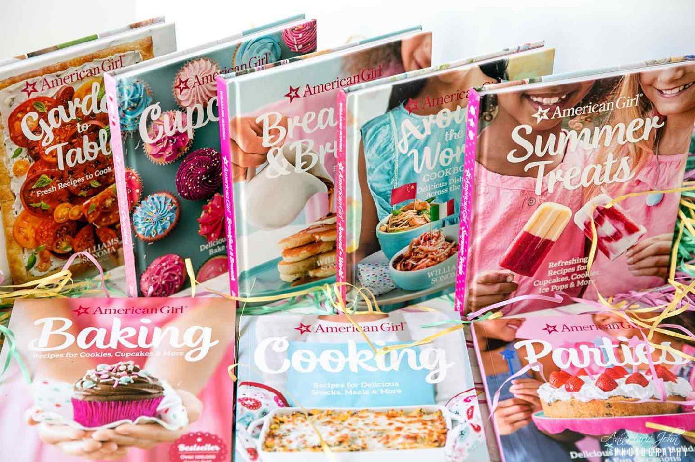 American Girl Cookbooks for Kids