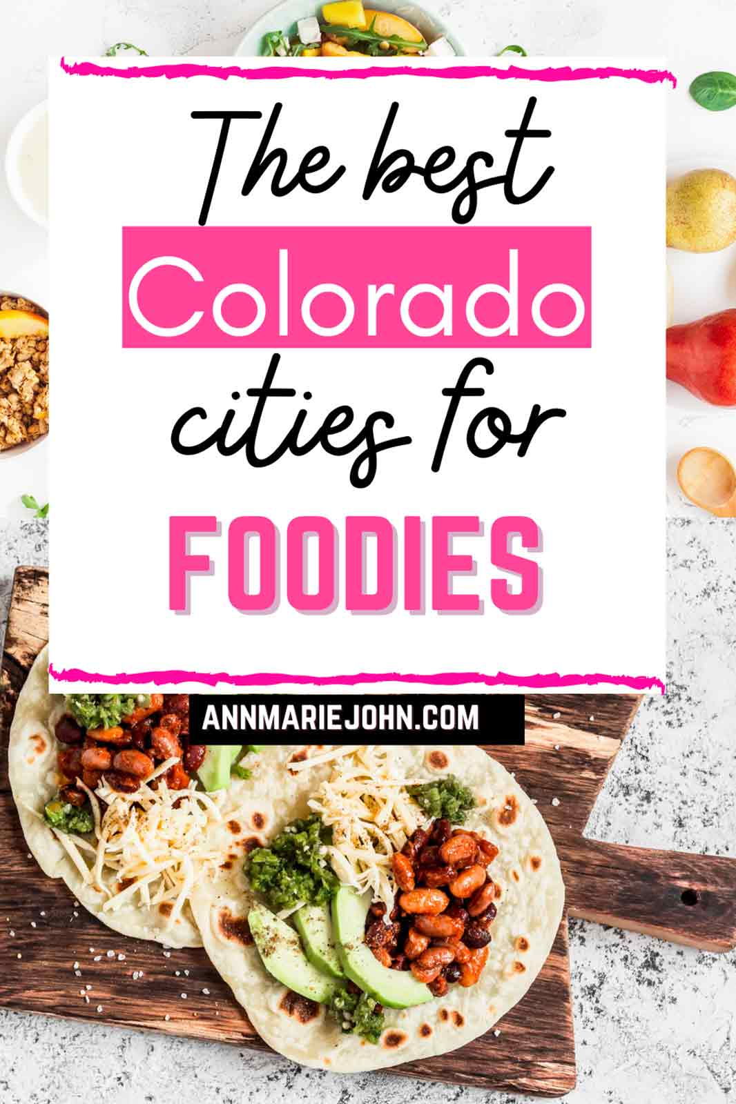 Best Colorado Cities for Foodies