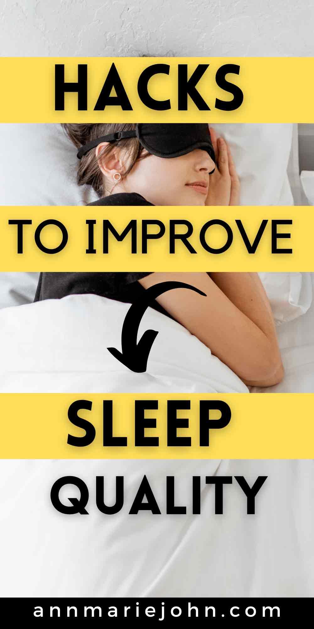 Hacks to Improve Sleep Quality