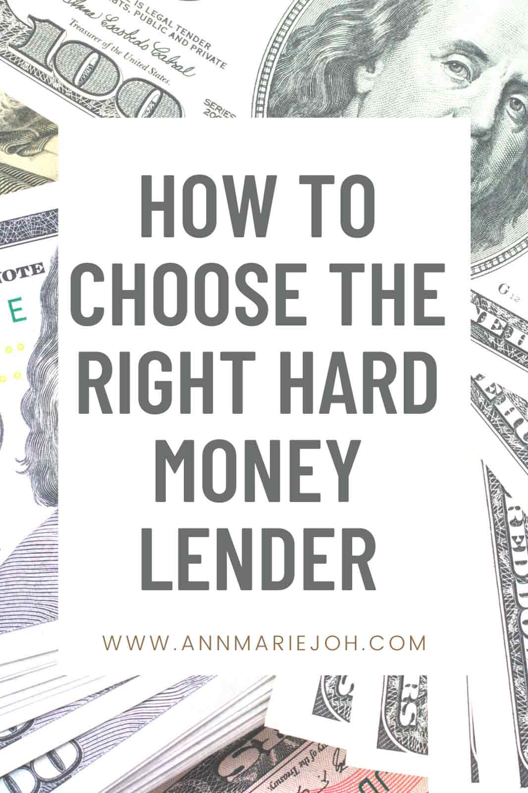 How to Choose the Right Hard Money Lender