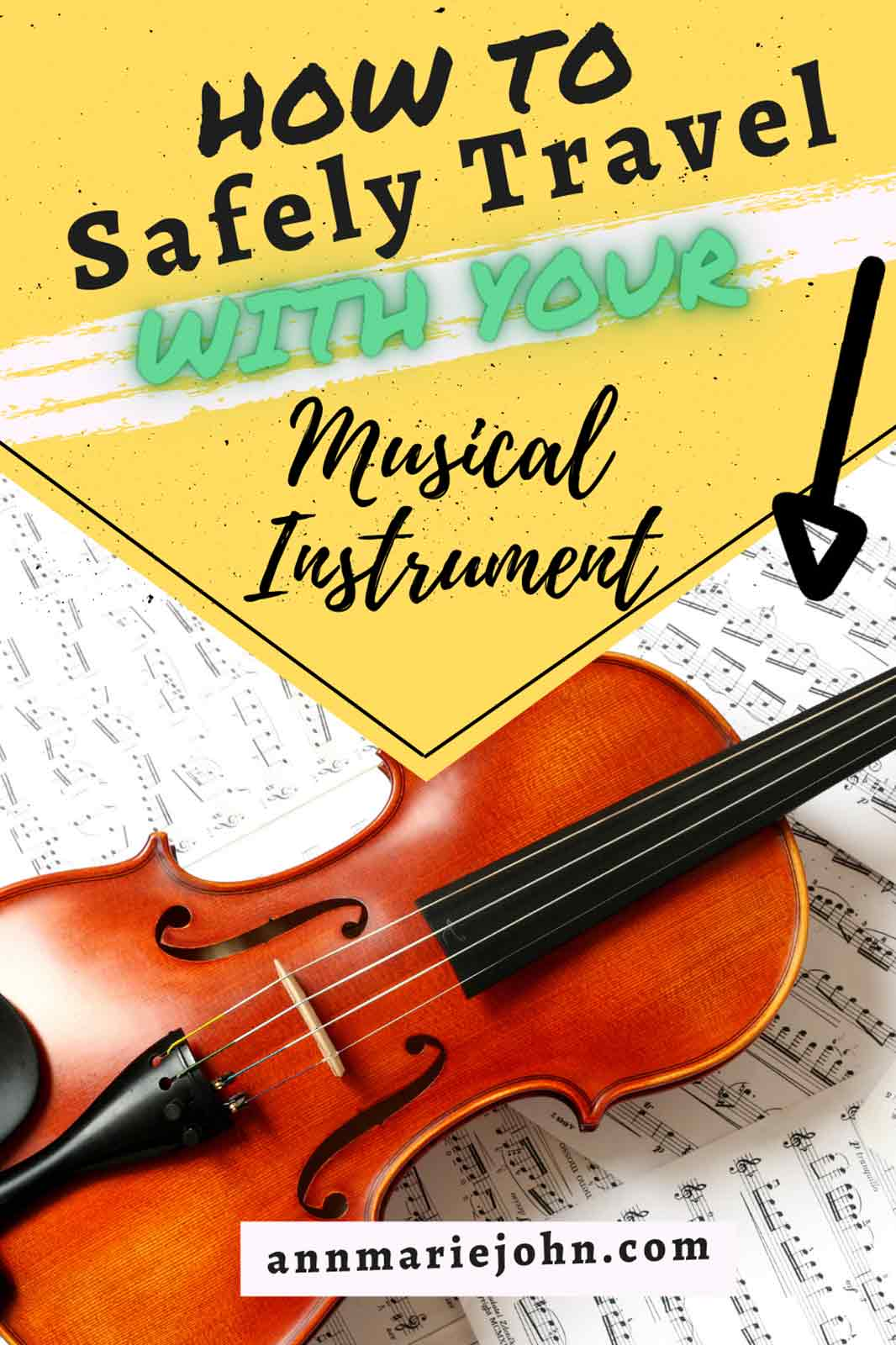 How to Safely Travel With a Musical Instrument