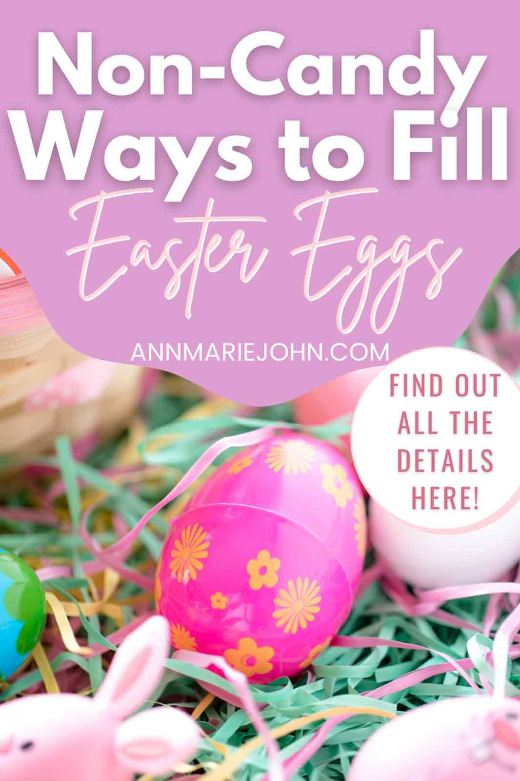 Non-Candy Ways To Fill Plastic Eggs