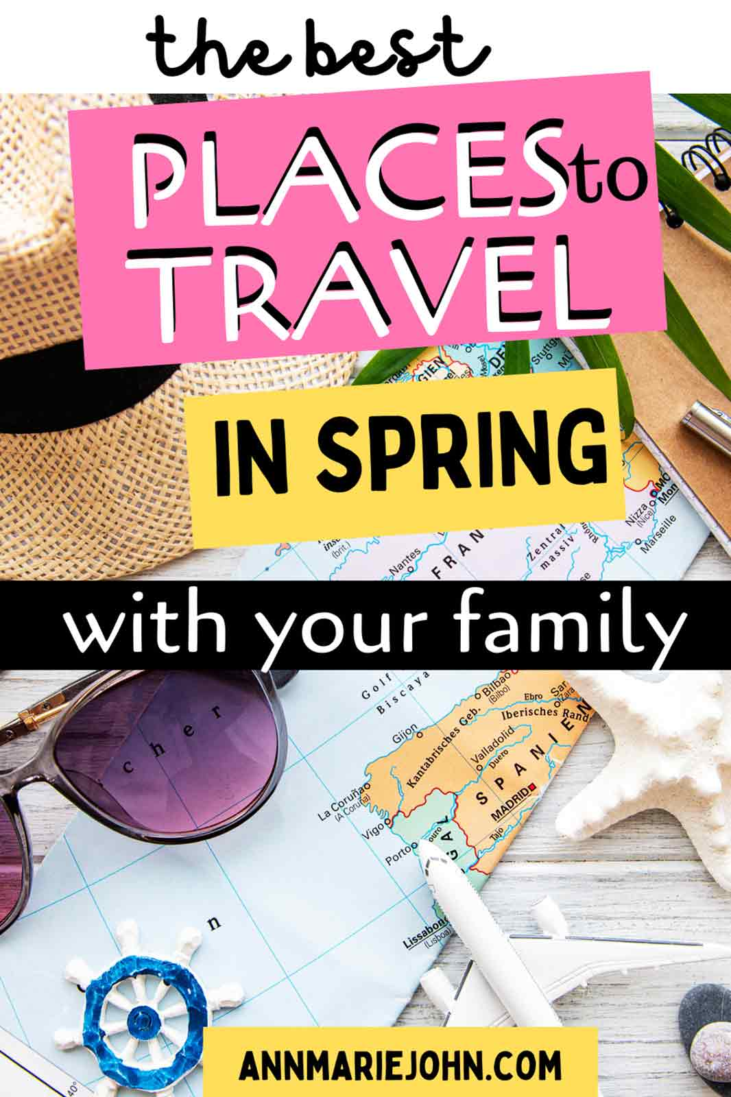 The Best Places to Travel in Spring With Your Family