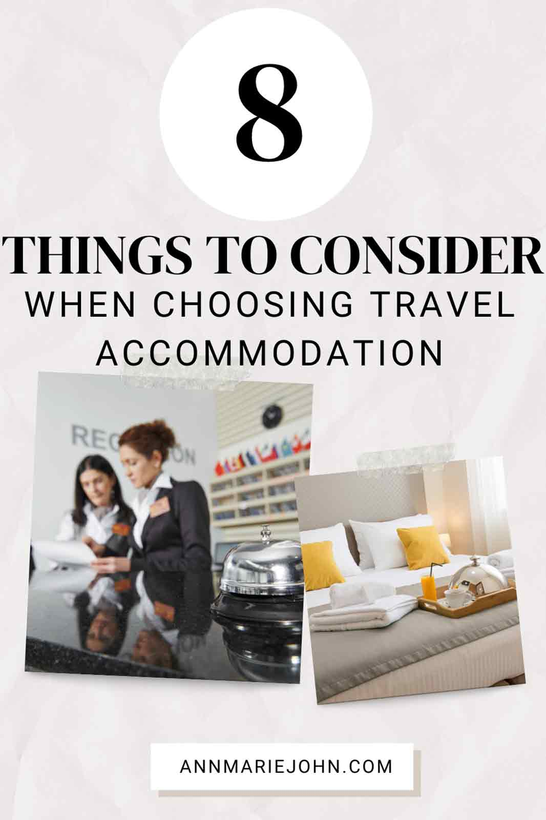 Things to Consider When Choosing Travel Accommodation