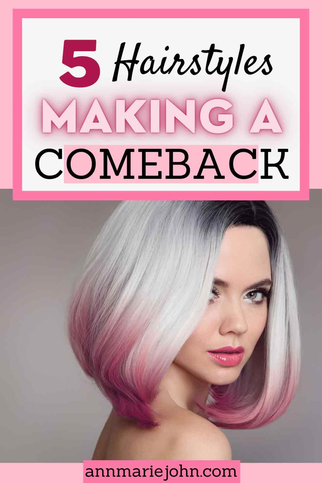 Hairstyles That Are Making A Comeback