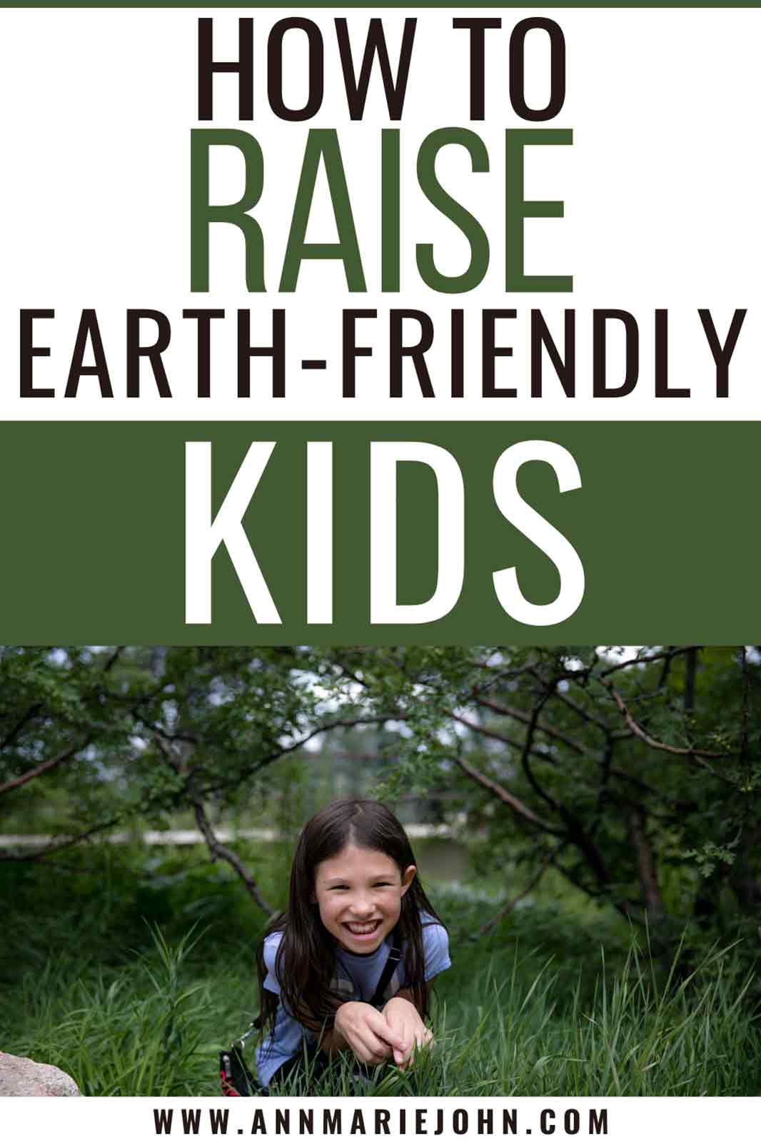 How to Raise Earth-Friendly Kids