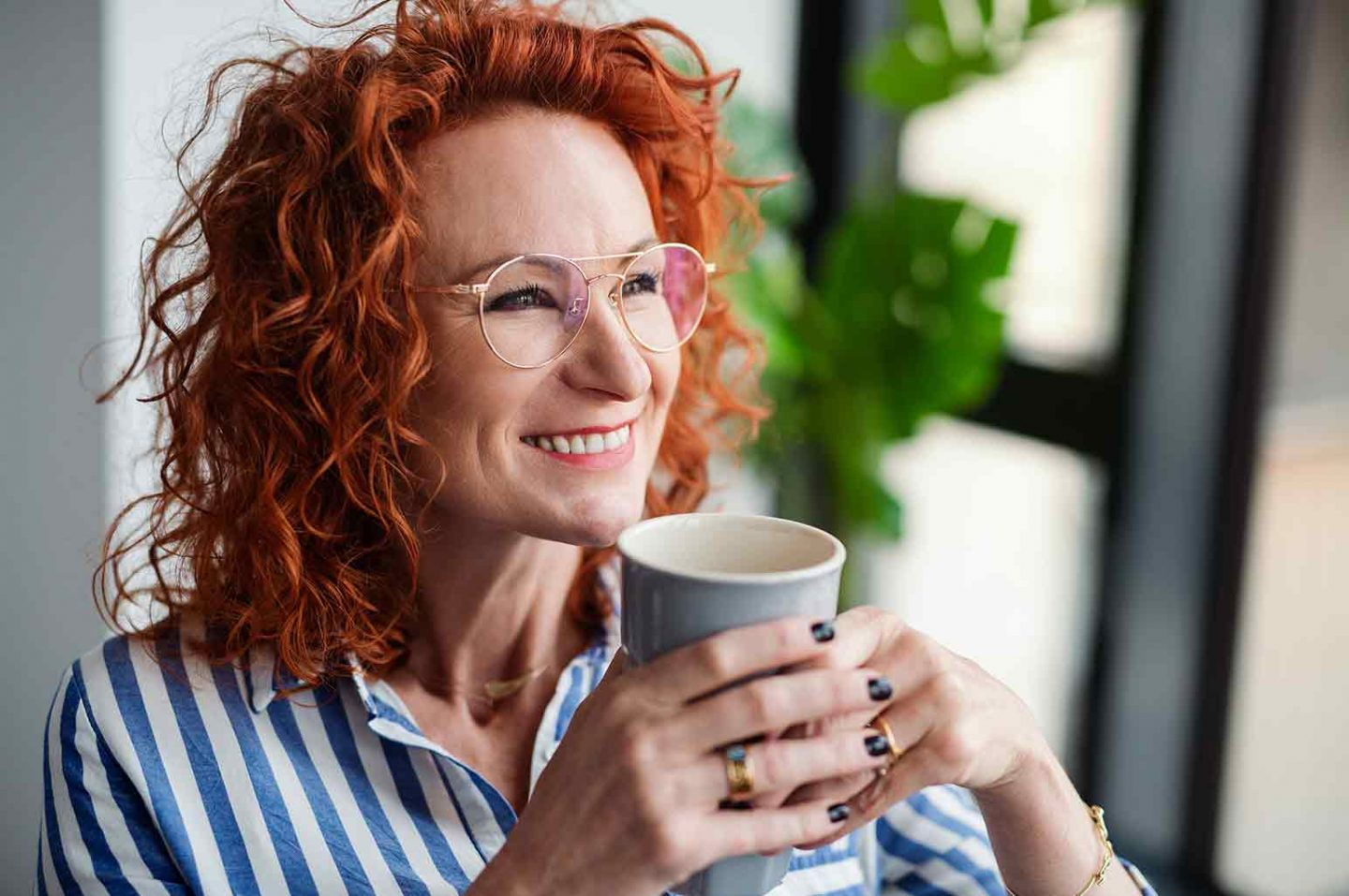 Tips for Healthy Curly Hair over 45