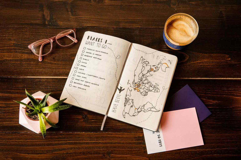 Tips to Start Travel Journal