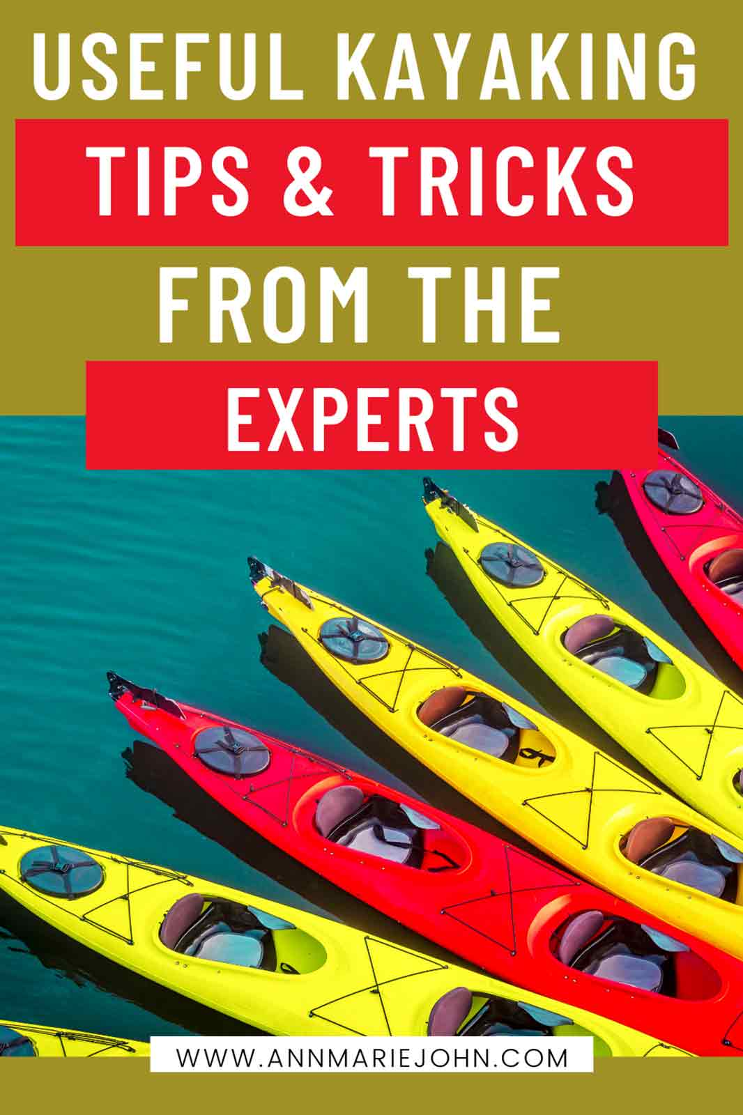 kayaking tips and tricks