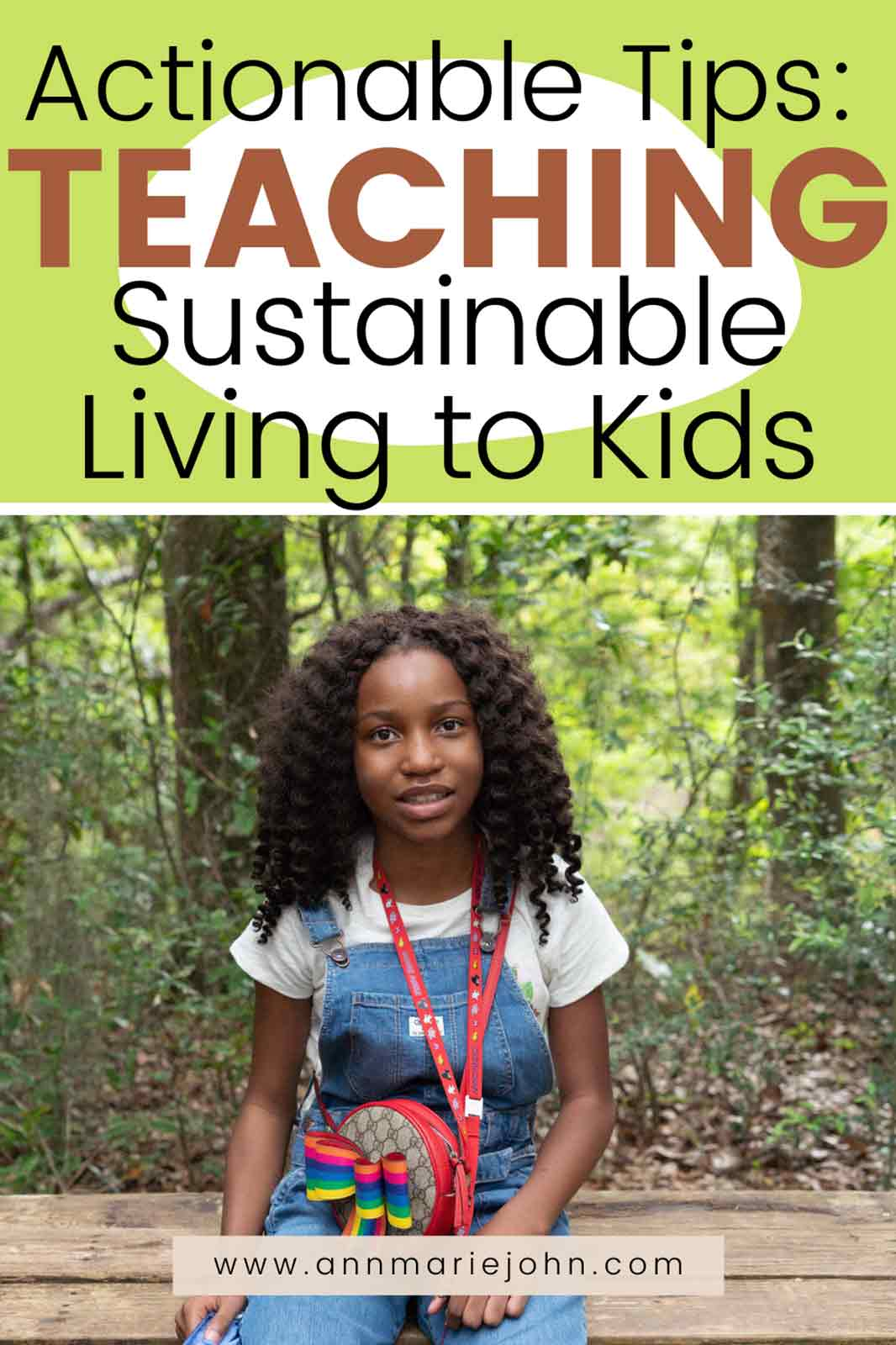 Teaching Sustainable Living to Kids