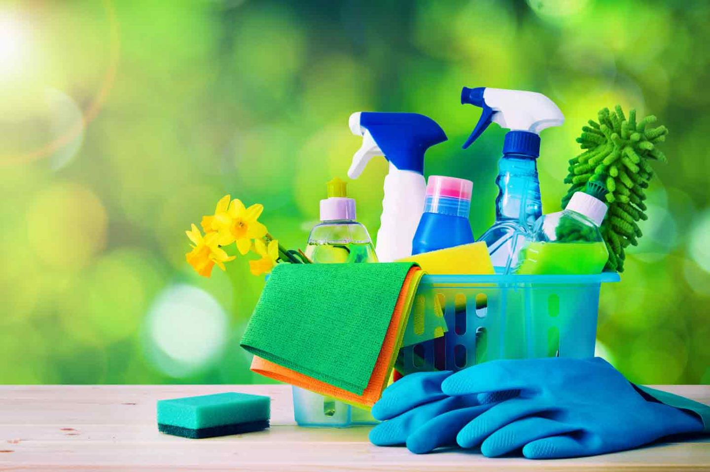 Cleaning Supplies Needed to Clean a House