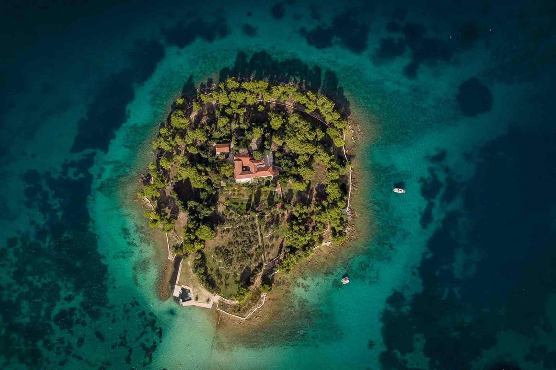 Islands off the Coast of Croatia