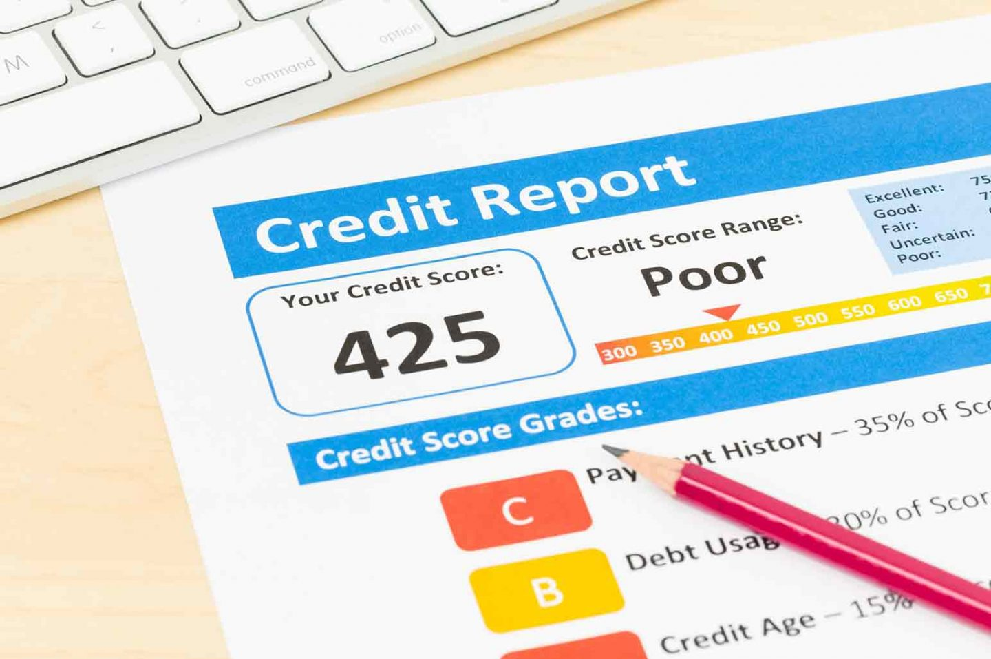 Tips to Get Rid of Bad Credit