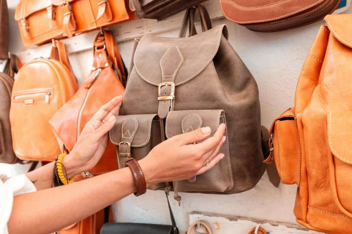 Qualities Needed in a Leather Backpack