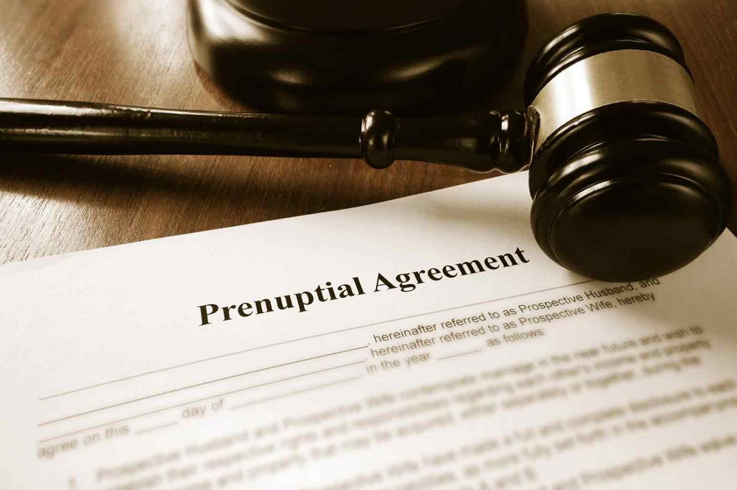 Say Yes To The Prenup