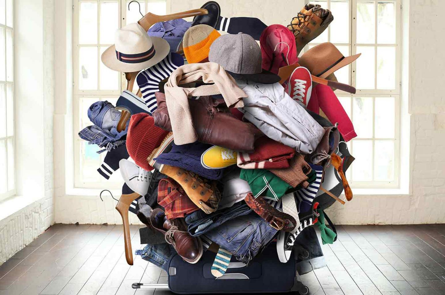 Tons of Clothes and Shoes
