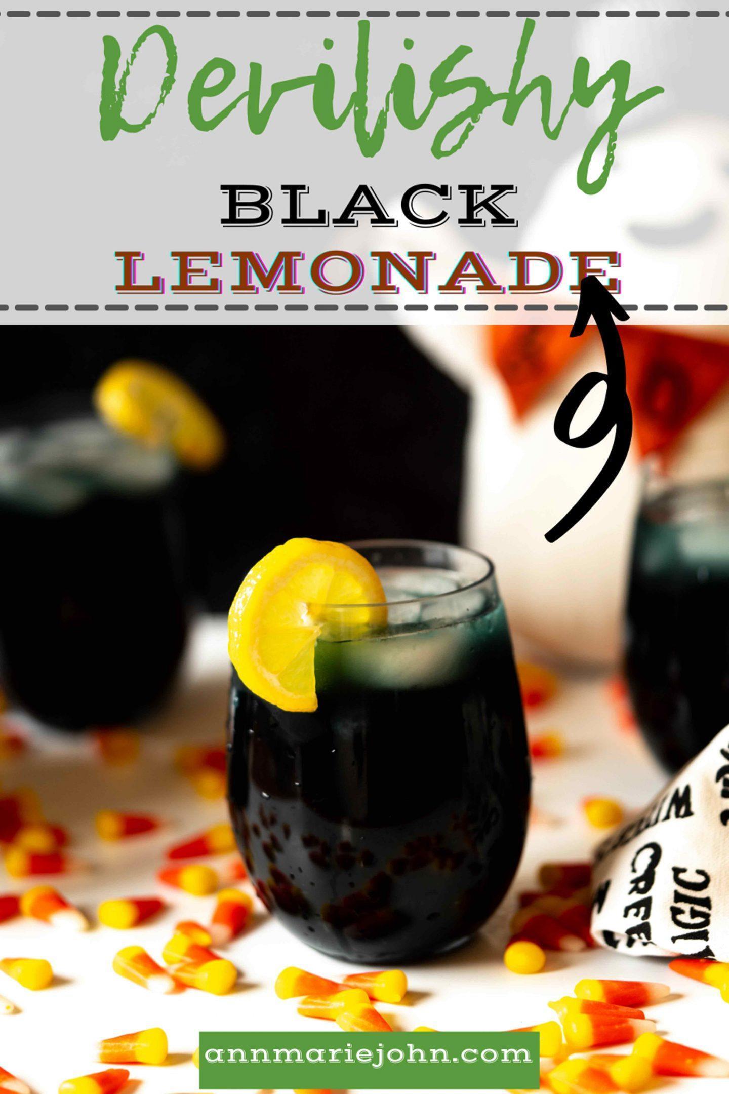 Devilishly Black Lemonade